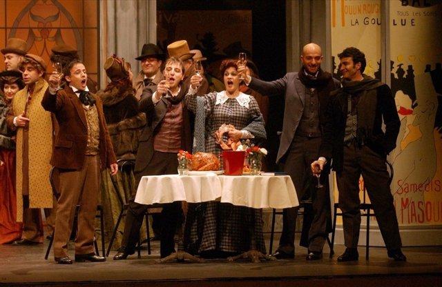 La Ópera 'La Bohème' Llega Al Riberas Del Guadaíra