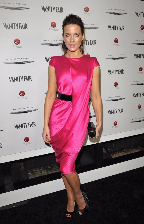 Victoria Beckham, Kate Beckinsale y el peligroso vestido de Eva Longoria