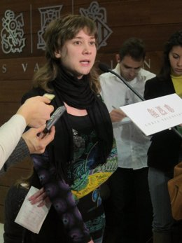 Marina Albiol Atiende A Los Medios En Imagen De Archivo
