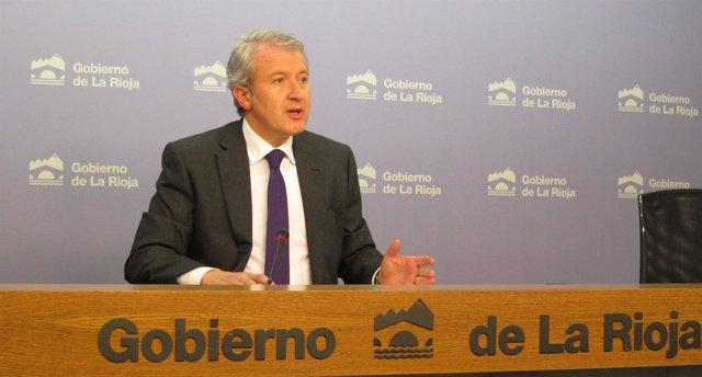 Emilio Del Río, Portavoz Del Gobierno Riojano