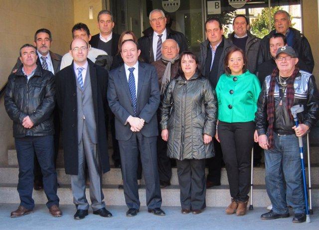 Sanz Y Los Alcaldes De La Comarca De Nájera