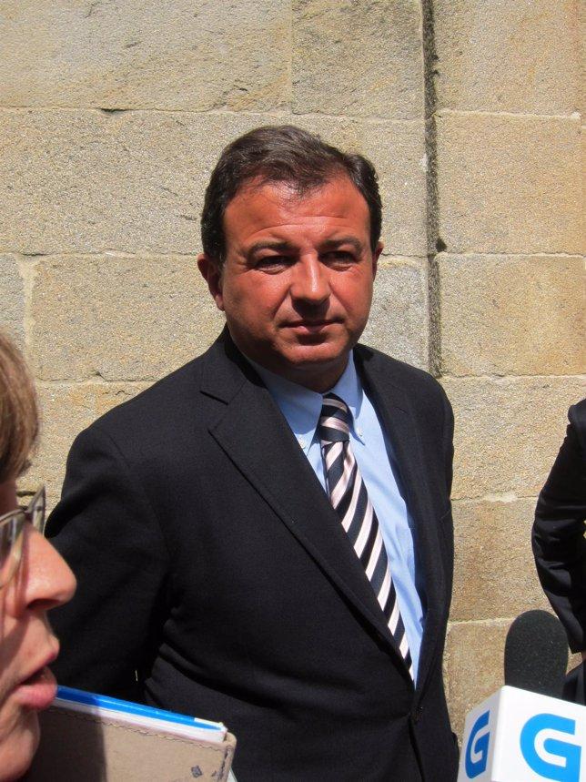 El consellerio de Economía e Industra, Javier Guerra