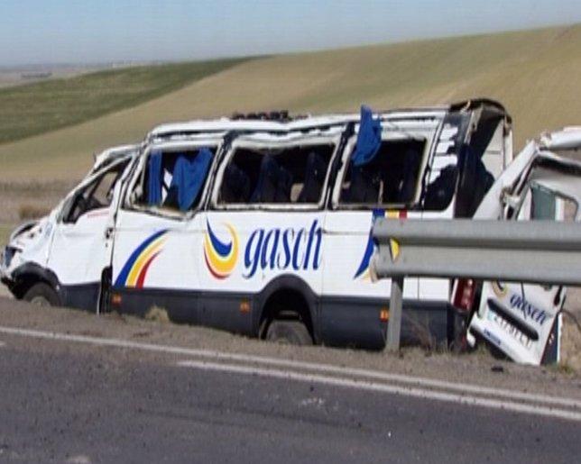 Muere joven de 16 años en accidente de Autobús