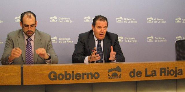 Javier Ureña, Gerente ADER, Y Javier Oñate, Secretario AICCOR