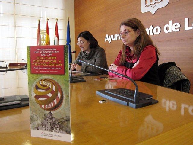 Montes Y Fernández, En La Presentación Del Ciclo