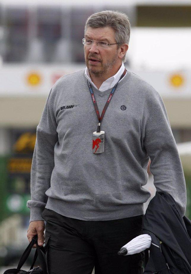 El jefe de la escudería Brawn GP, Ross Brawn