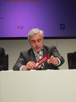 El Coordinador General De La Diputación De Barcelona, Josep Maria Matas