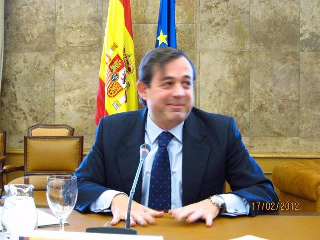 El Secretario De Estado De Medio Ambiente, Federico Ramos De Armas.