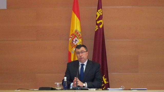 José Ballesta En Rueda De Prensa