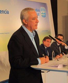 Javier Arenas, Hoy Ante Los Medios