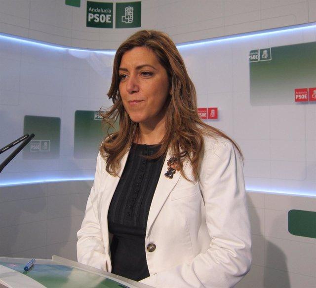 Susana Díaz, Este Viernes En Rueda De Prensa