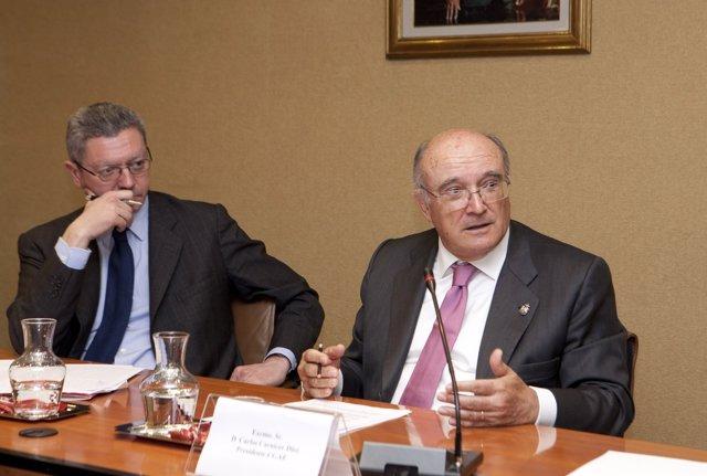 Alberto Ruiz-Gallardón Y Carlos Carnicer