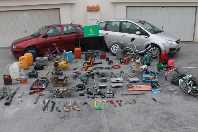 Material Incautado En La Operación Desarrollada En Vilafamés