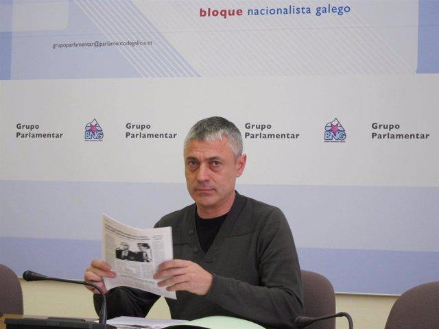 El Diputado Del BNG Bieito Lobeira