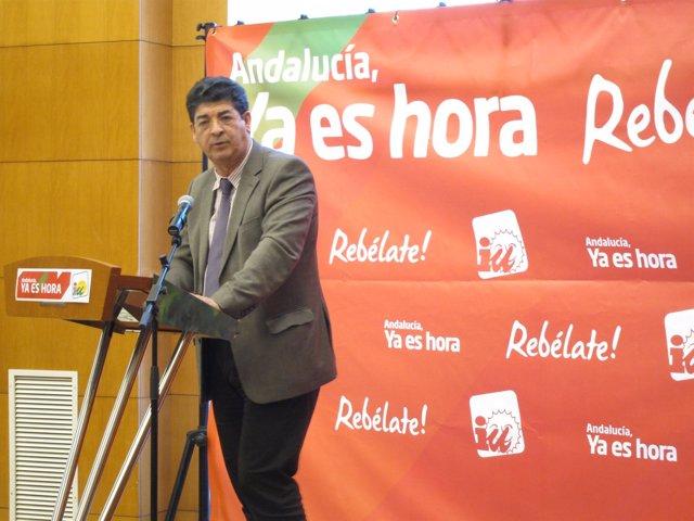 El Coordinador Regional De IU, Diego Valderas