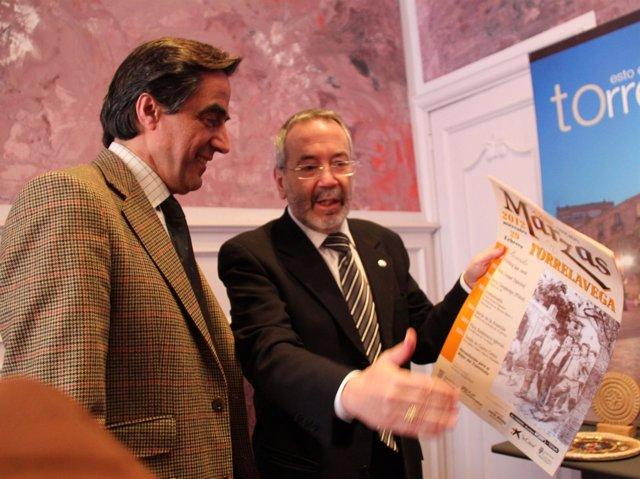 Calderón Y Crespo, En La Rueda De Prensa