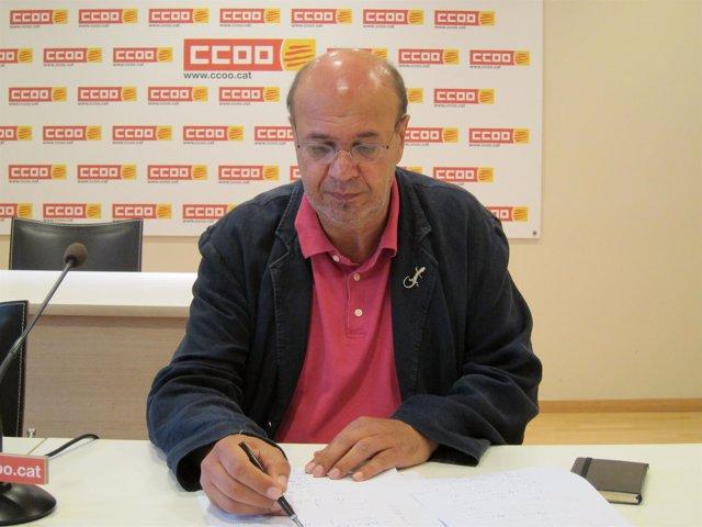 Joan Carles Gallego CC.OO. Catalunya