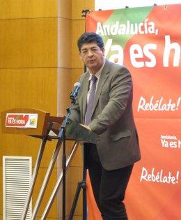 Coordinador Regional De IU Diego Valderas (Andalucía)