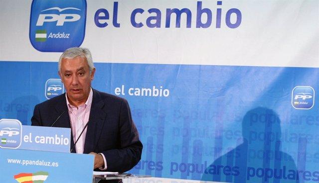 Javier Arenas, Presidente Del PP-A