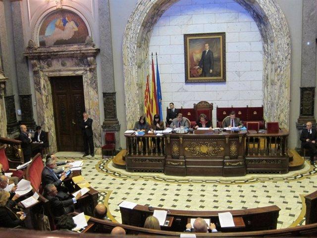 Imagen Del Pleno Del Ayuntamiento De Valencia Del Mes De Febrero