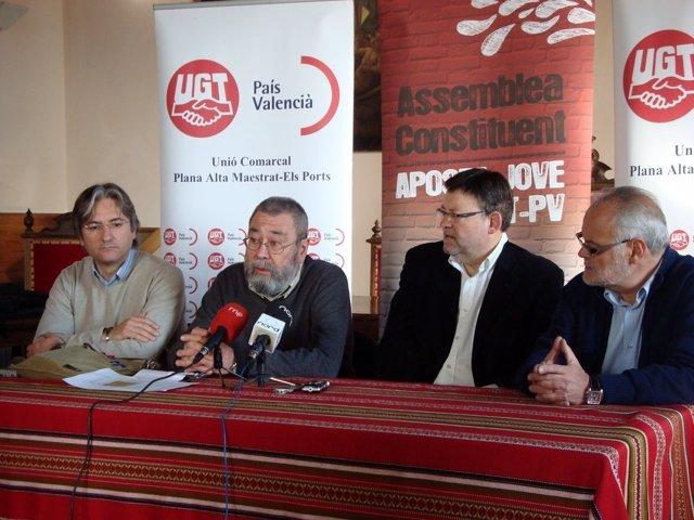 Méndez, En Rueda De Prensa En Morella