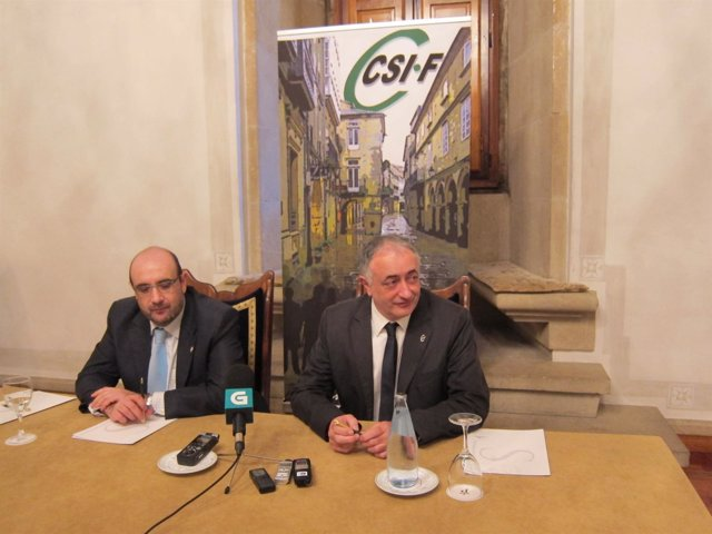 Rueda De Prensa De CSIF GALICIA
