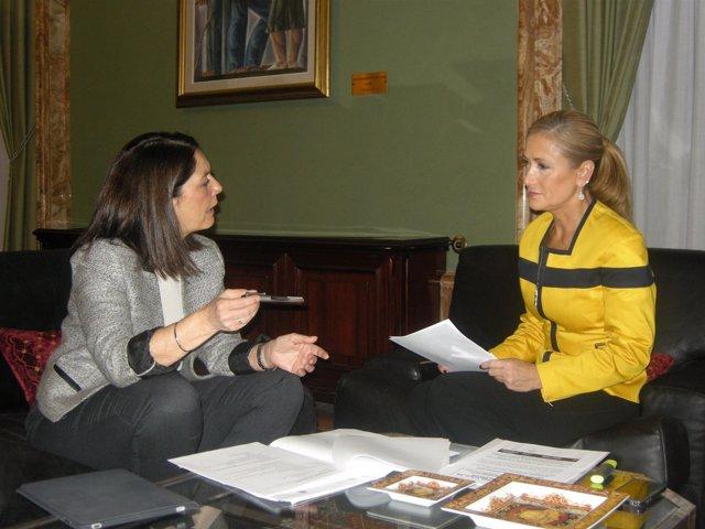 Paloma Adrados Y Cristina Cifuentes