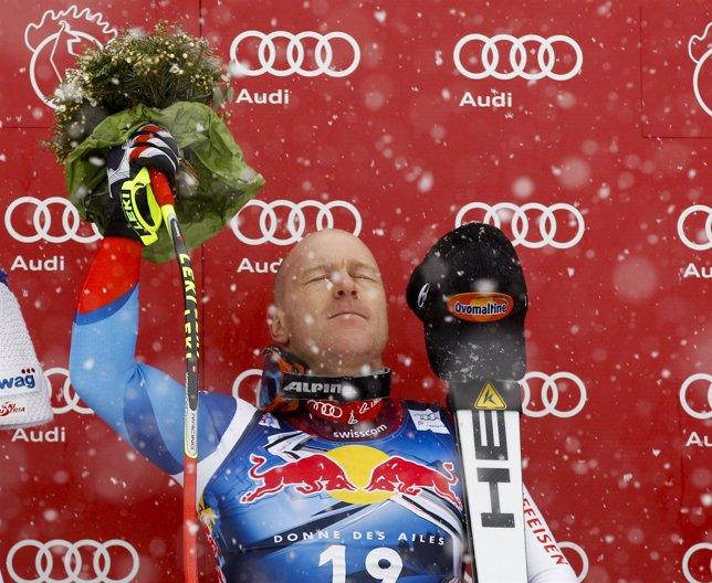 El Esquiador Suizo Didier Cuche