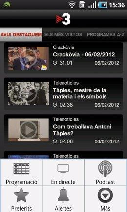 La Nueva Aplicación De TVC