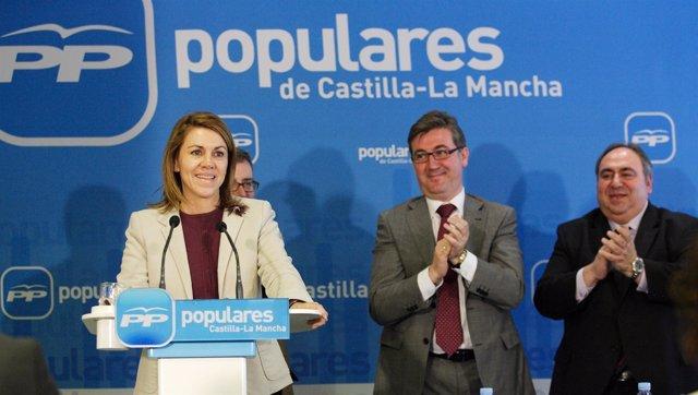 Cospedal Preside La Junta Directiva Del PP En Albacete