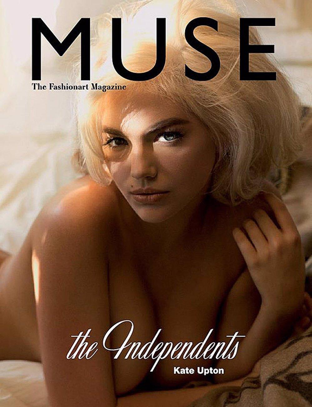 Kate Upton En La Portada De 'Muse'
