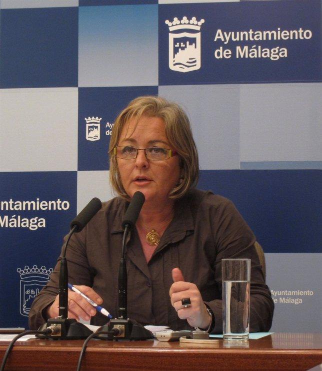 La concejala de Sostenibilidad y Servicios de Málaga, Teresa Porras