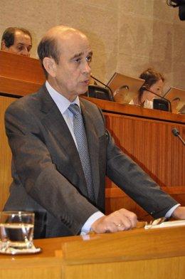 Fernández De Alarcón En El Pleno De Las Cortes