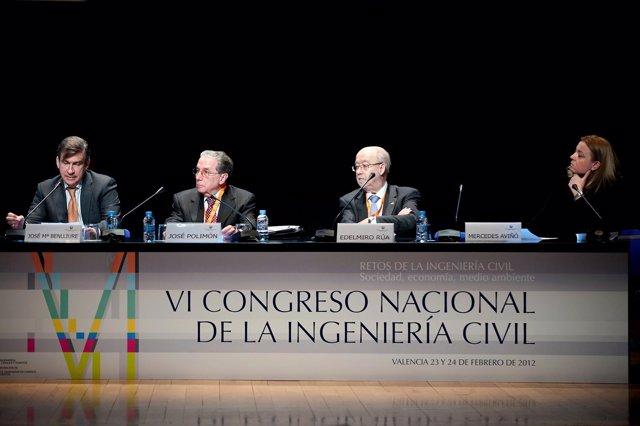 Clausura Del VI Congreso Nacional De Ingeniería Civil En Valencia