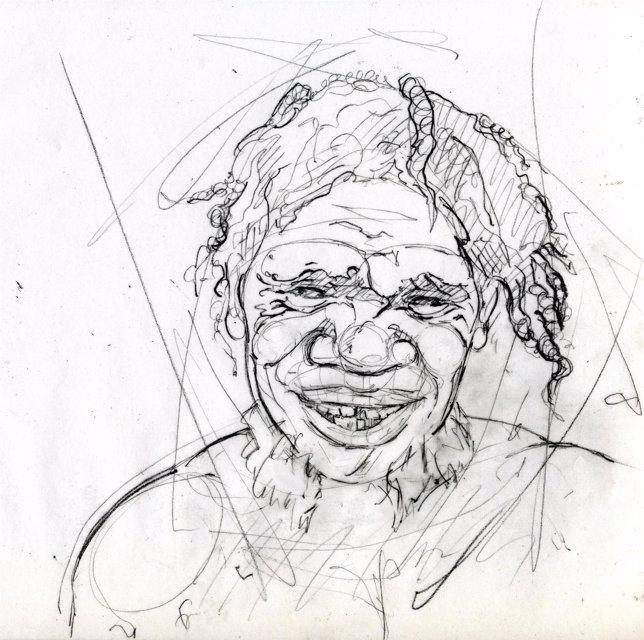 Ilustración De Un Neandertal, Obra De Sonia Cabello