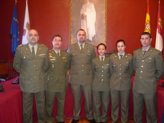 Soldados Homenajeados