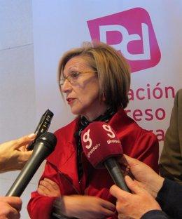 Rosa Díez, Hoy Ante Los Medios En Sevilla