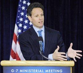 """Geithner subraya las """"duras medidas"""" adoptadas por el nuevo Gobierno de España"""