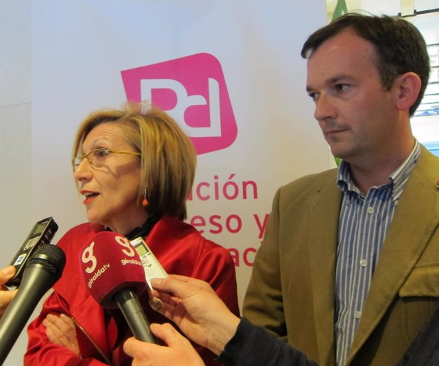 Rosa Díez Y Martín De La Herrán, Hoy En Sevilla