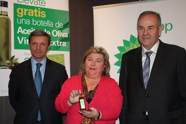 Clara Aguilera Aplaude La Iniciativa De BP Para Promocionar El Aceite De Oliva