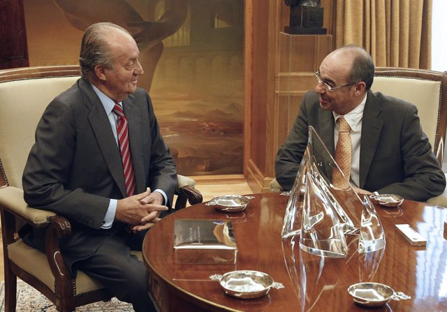 El Rey Conversa Con  Francisco Jesús Jorquera