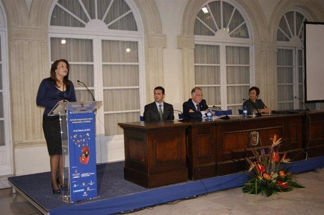 La Delegada Del Gobierno Andaluz, Carmen Crespo