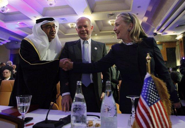Hillary Clinton En La Conferencia 'Amigos De Siria'