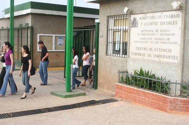 Centro de Estancia Temporal de Inmigrantes (CETI) de Melilla