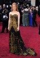 Jessica Chastain posando sobre la alfombra roja de