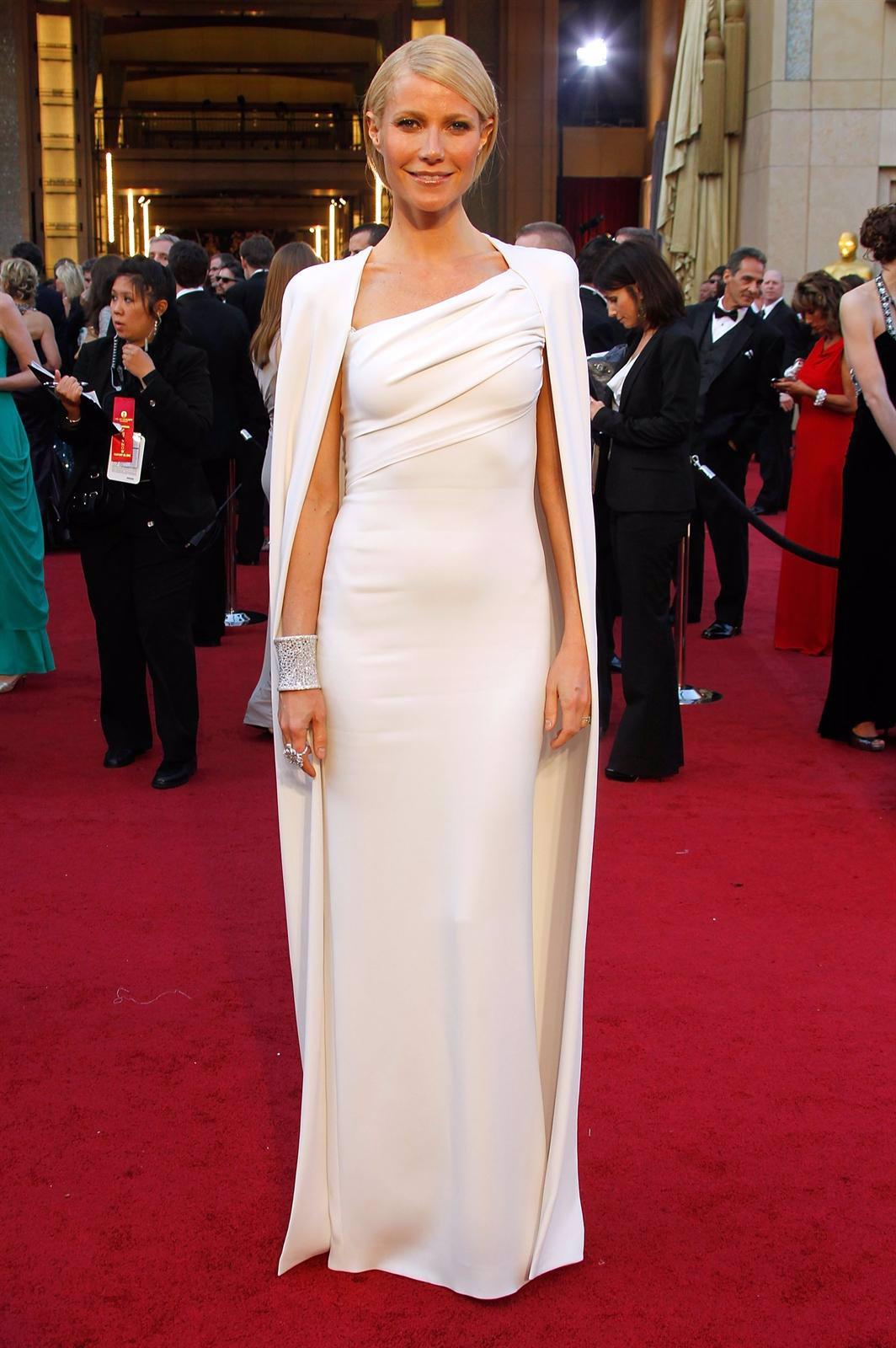 Gwyneth Paltrow Posando Sobre La Alfombra Roja De Los Oscars