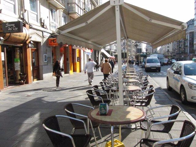 Imagen de una Terraza de un bar