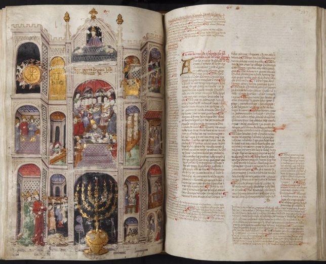 Biblia Hebrea. Exposición 'Biblias De Sefarad' En La Biblioteca Nacional