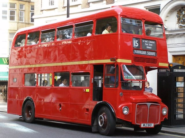 Imagen De Autobús De Londres