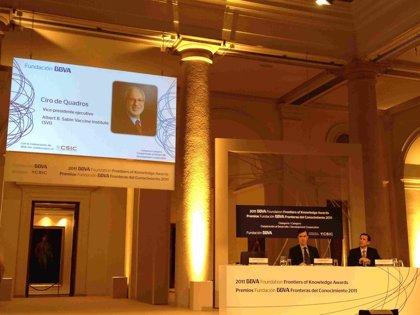 AV.- El investigador brasileño Ciro de Quadros, Premio Fronteras del Conocimiento en Cooperación al Desarrollo